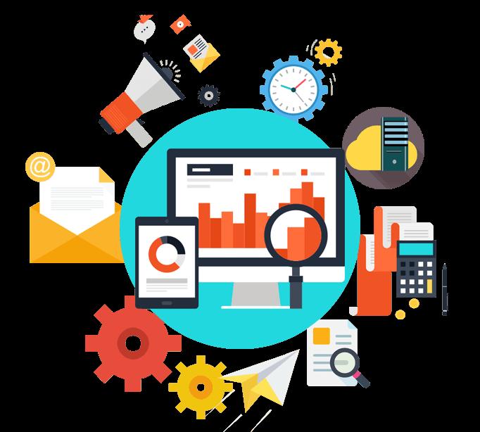 cflow features sales, hr, procurement, analytics, admin, marketing