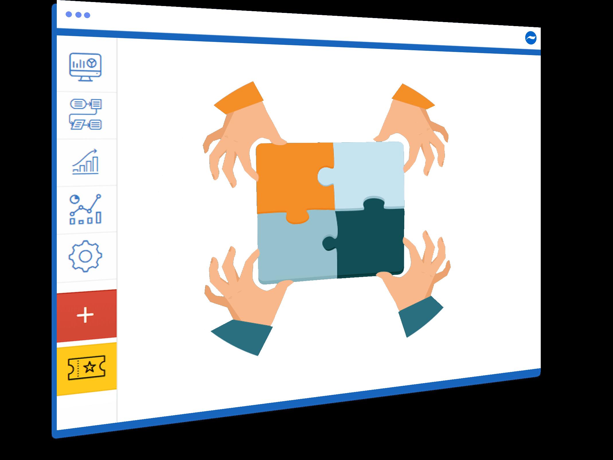 Processmaker alternative feature social collaboration Cflow